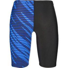speedo Allover Panel V Cut Jammers Jungen black/blue